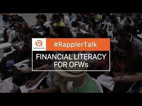 Rappler Talk: Financial Literacy for OFWs