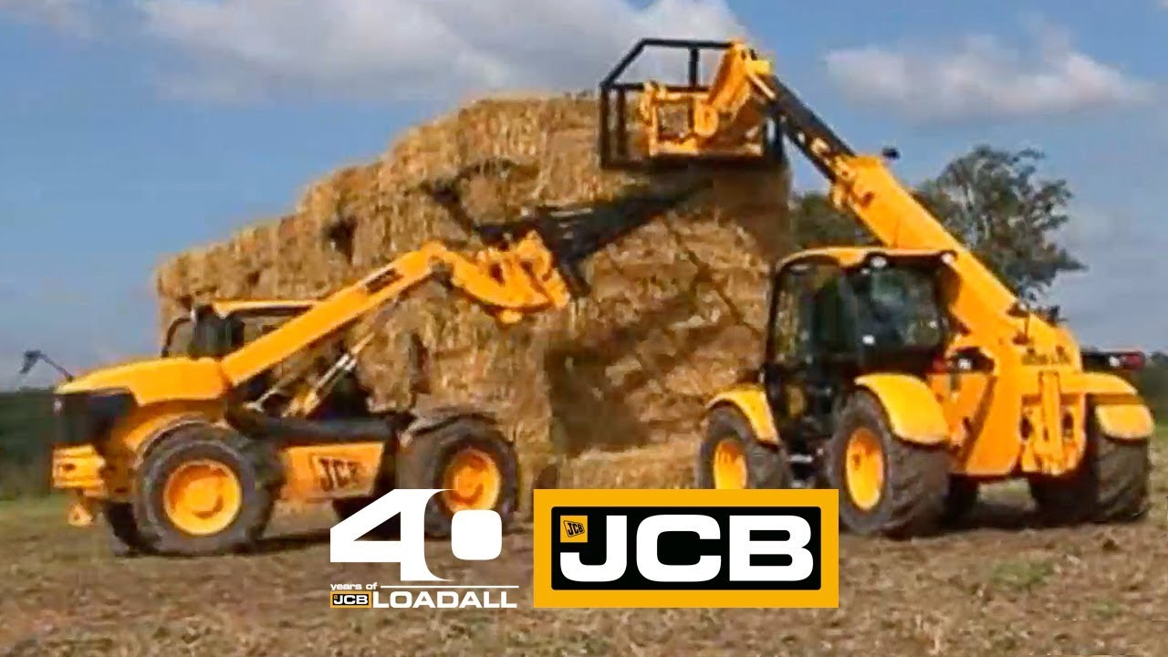 JCB 100,000 Loadalls - Celebrating 40 Years of Loadall