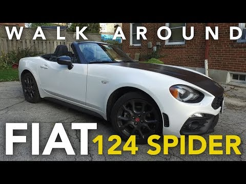 2018 Fiat 124 Spider Abarth Review and Walkaround