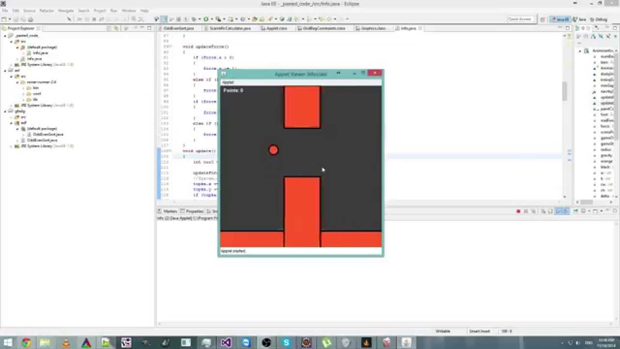flappy bird source code java