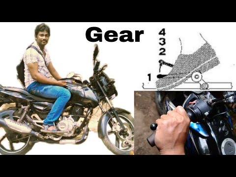 How to use Clutch and Shifting Bike Gear   Tamil   Vinothjustice