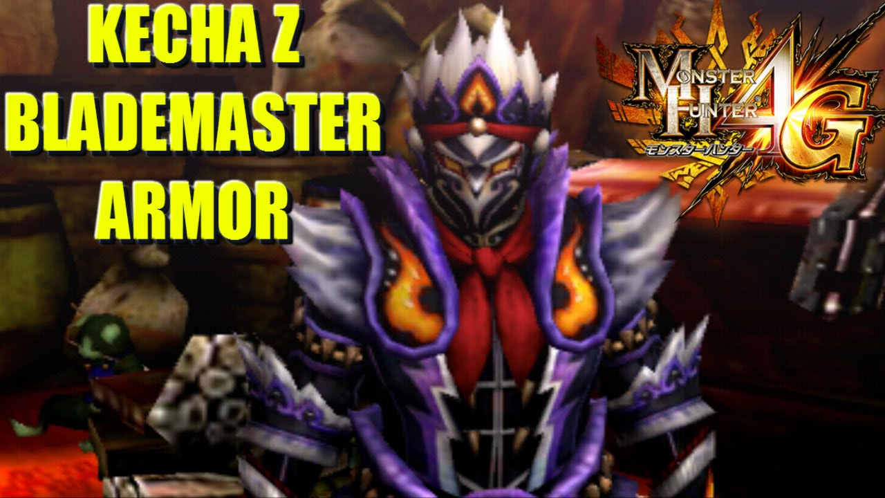 Monster hunter 4 ultimate 4g kecha z blademaster armor set monster hunter 4 ultimate 4g kecha z blademaster armor set overview mh4gz youtube voltagebd Choice Image