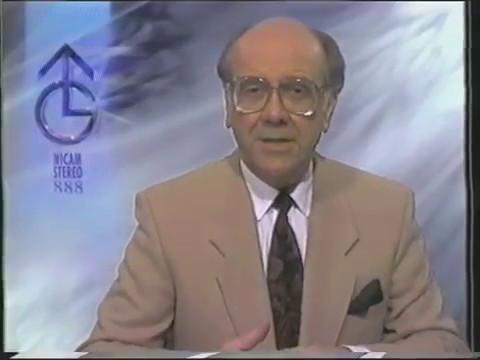 ITV Granada continuity 1-3-92 White Hart Lane bomb Charles Foster