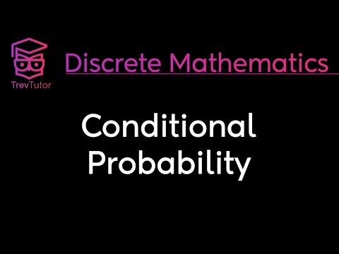 [Discrete Math 2] Conditional Probability