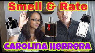 Best Carolina Herrera Fragrances/Smell & Rate