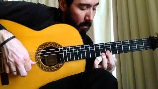 Flamenco Tremolo Exercise - 7 (Fuente y Caudal by Paco de Lucia)