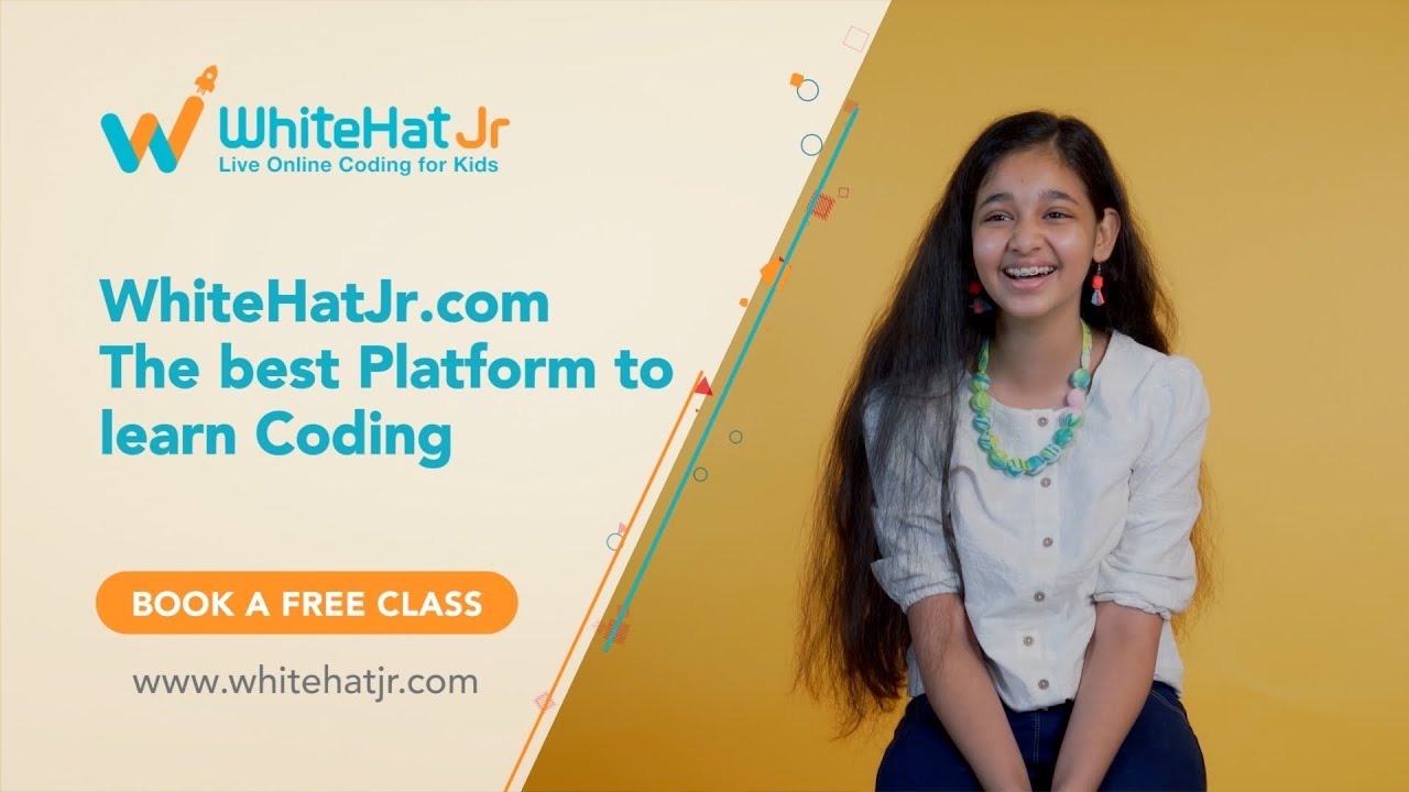 Arushi loves Coding with WhiteHat Jr - YouTube