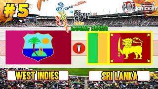 ICC Cricket World Cup 2015 (Gaming Series) - Pool B Match 5 West Indies v Sri Lanka