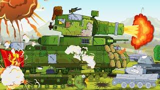 Gambar cover Tank menyelamatkan tentara. Dunia tank kartun. World of tanks. Mobil anak kartun.