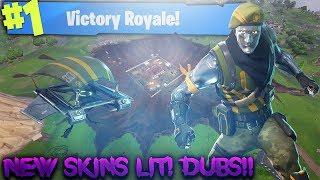 BACK ET PAS #RIP! GETTING DUBS LETS GO! 233 VICTOIRES EN SOLO ! (Fortnite Battle Royale)
