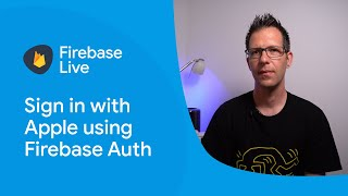 Sign in with Apple using Firebase Authentication