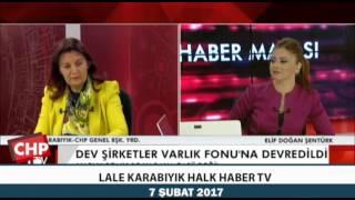LALE KARABIYIK HALK HABER TV 07/02/2017