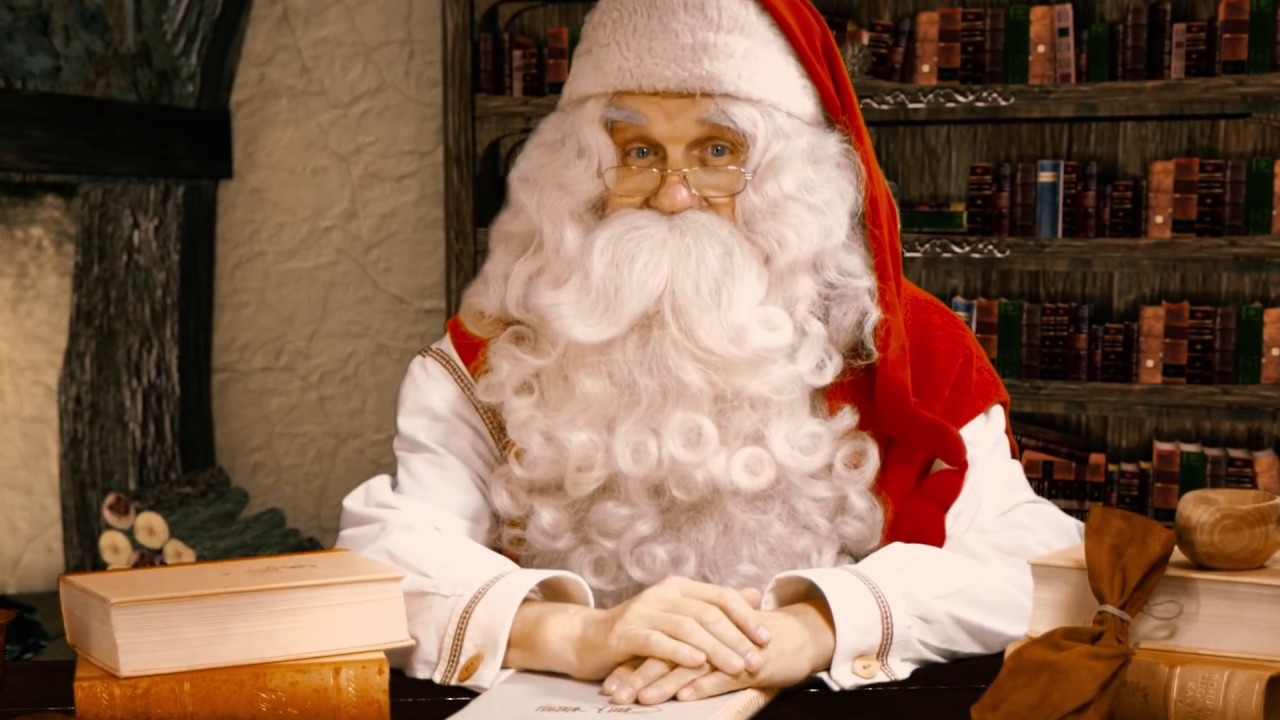 Babbo Natale A Casa Dei Bambini.Messaggio Di Babbo Natale Per I Bambini Lapponia Finlandia Videomessaggio Di Santa Claus Rovaniemi