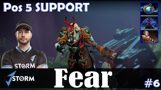 Fear - Grimstroke Safelane | Pos 5 SUPPORT | Dota 2 Pro MMR Gameplay #6