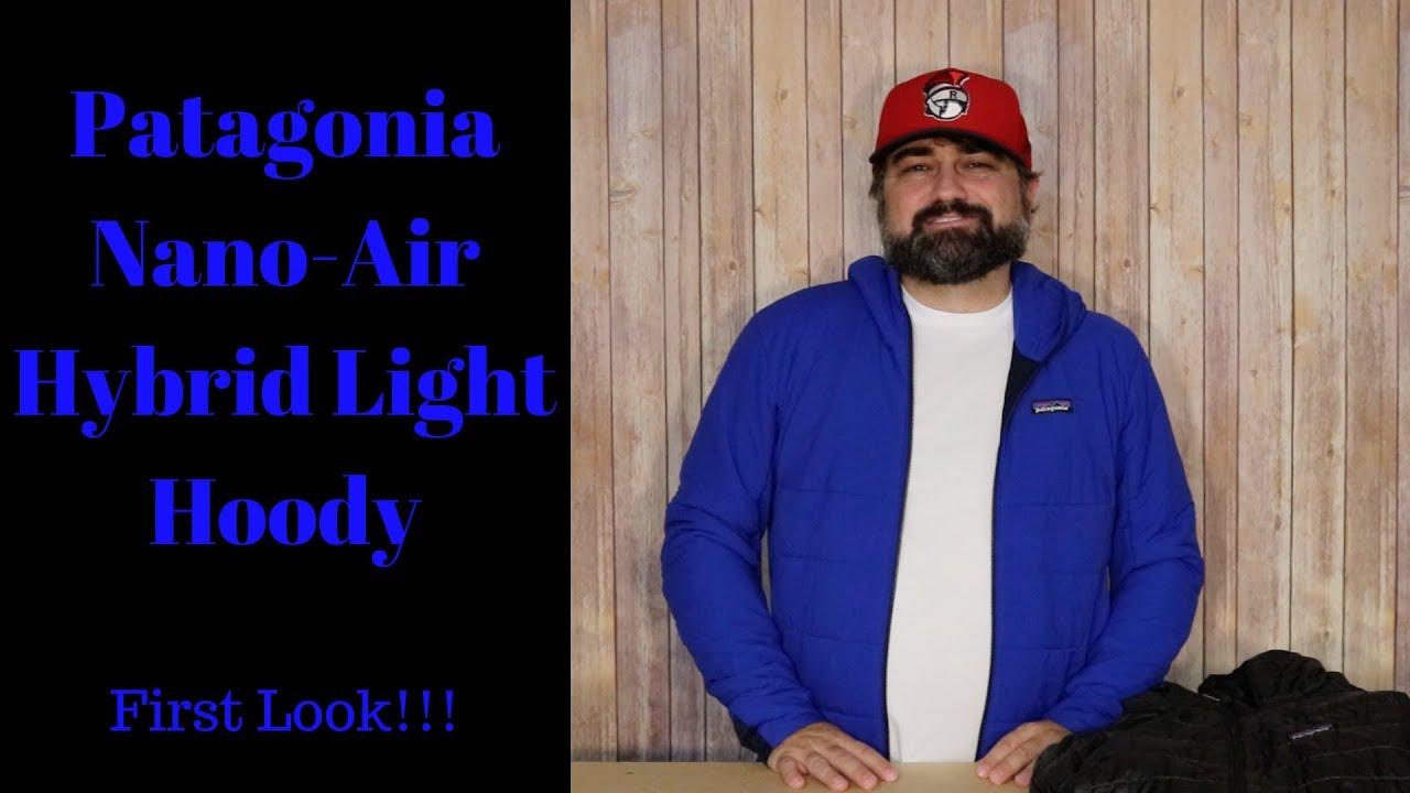 7a2b86f2b4 Patagonia Nano Air Light Hybrid Hoody - YouTube