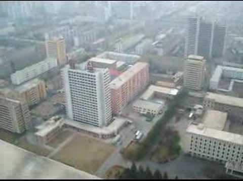 Pyongyang from Juche tower