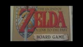 Custom Legend Of Zelda Board Game Review