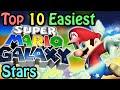 top 10 easiest super mario galaxy stars