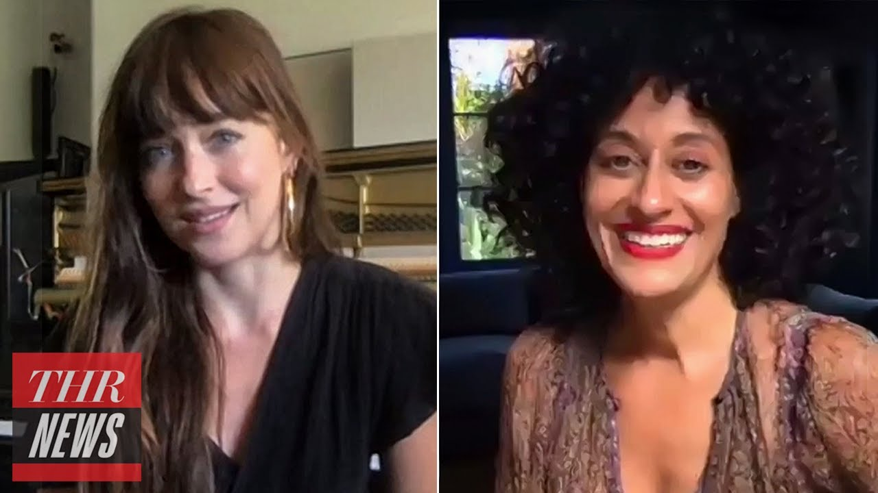 'The High Note' Stars Tracee Ellis Ross & Dakota Johnson on Their Unique On-Screen Bond | THR News