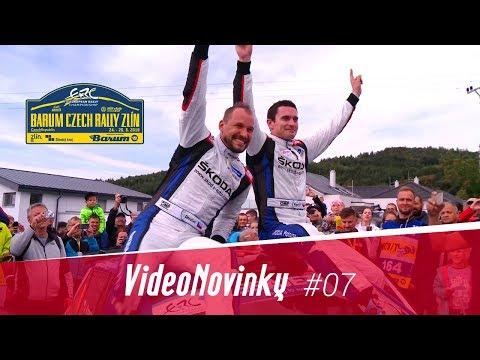 Barum Czech Rally Zlín 2018 - průjezdy a rozhovory v cíli