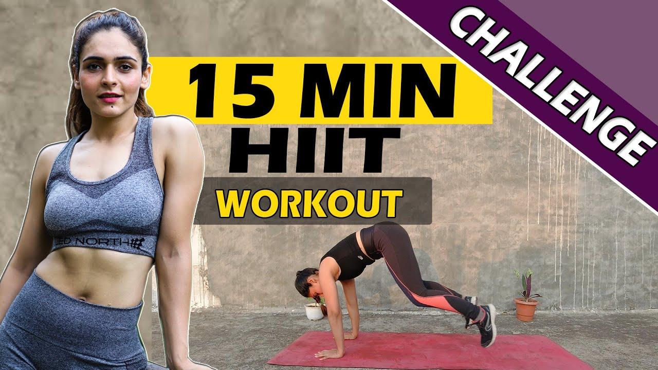 Summer Shred Challenge || 15 Min Full Body HIIT Workout |  || Get Shredded 🔥