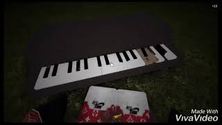 NEW SECRET PIANO IN MAZE !! Update 3 -ROBLOX