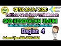 Bagian 4 || Latihan Soal dan Pembahasan SKB Kesehatan Umum CPNS 2020 untuk Semua Profesi Kesehatan