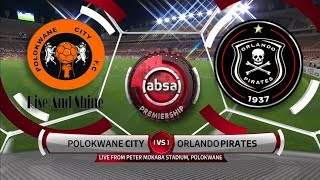 Absa Premiership | Polokwane City v Orlando Pirates | Highlights