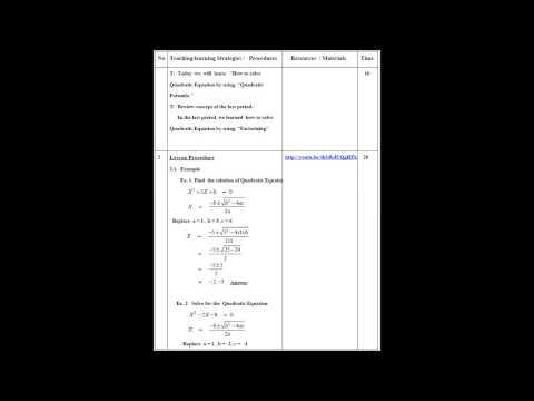 สมบูรณ์ ทองพลาย แผนการสอนคณิตศาสตร์ แผนที่ 2