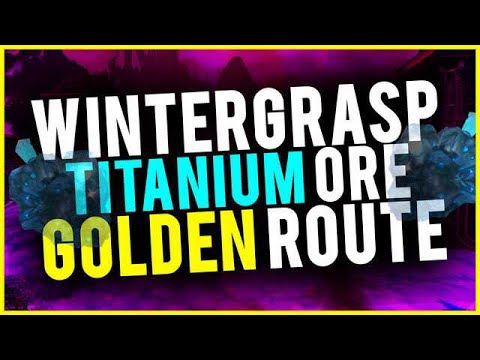 Best Titanium Ore Golden Route Insane Profits To Prepare For BfA World Of Warcraft Gold Guide