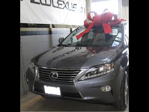 ** Very Emotional ** Surprised Mom with her Dream Lexus