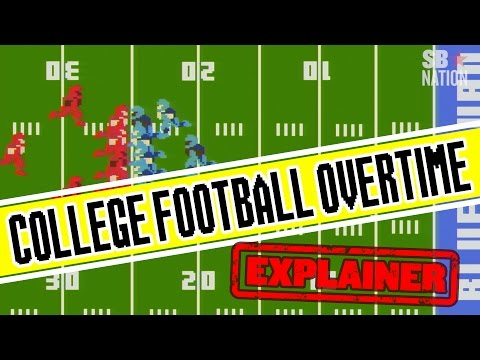 College football overtime explained