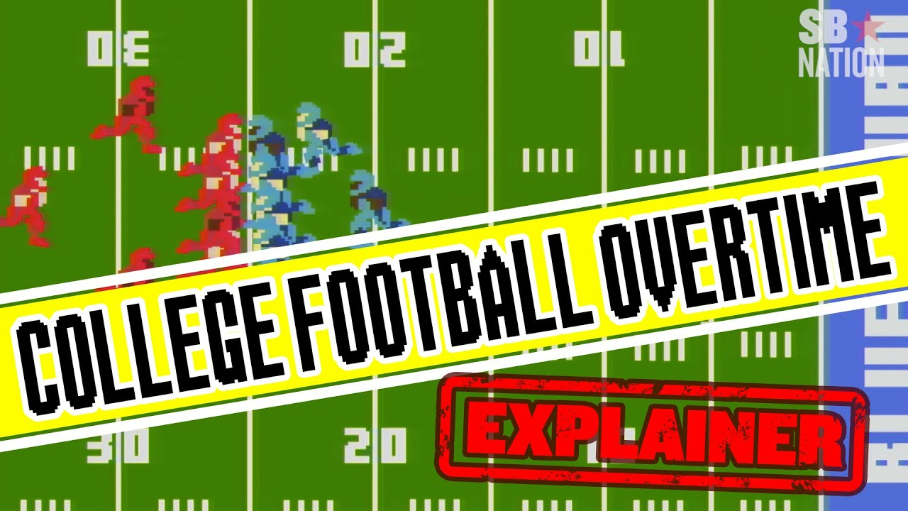 How does college football overtime work? Quick rules explainer here