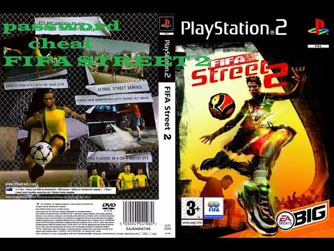 Password-cheat  FIFA Street 2 PS2