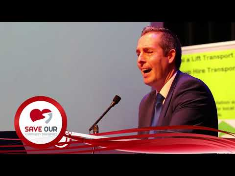 Save Our Community Transport Campaign - Launch 24/10/17