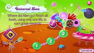 Candy Crush Universal Love Levels 1, 2, & 3   |   No Boosters   |   Lost Level 3