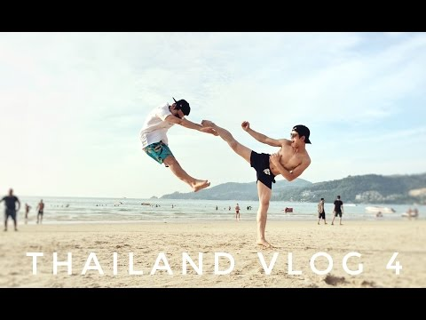 THAILAND VLOG 4: PHUKET! (BEACH, FOOD, & BANGLA ROAD)