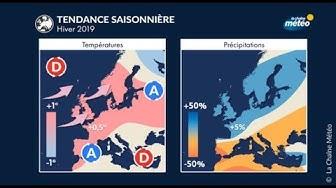 Prévision saisonnière - HIVER 2019 2020 // EN FRANCE