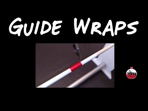 Rod-Building How to Wrap a Guide and Get a Level Epoxy Finish Easy by Hand (No Rod Dryer Needed)