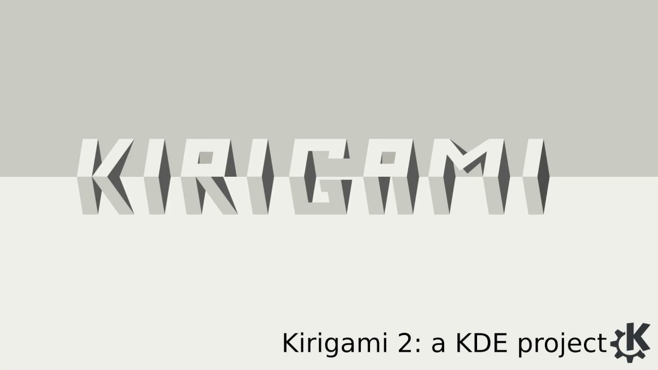 Kirigami 2 introduction