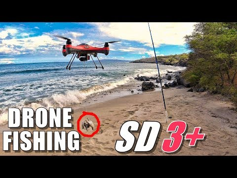 DRONE FISHING TORTURE TEST - Waterproof SwellPro SPLASHDRONE 3+ (Fishing & Crashing) 🎣🔥😂