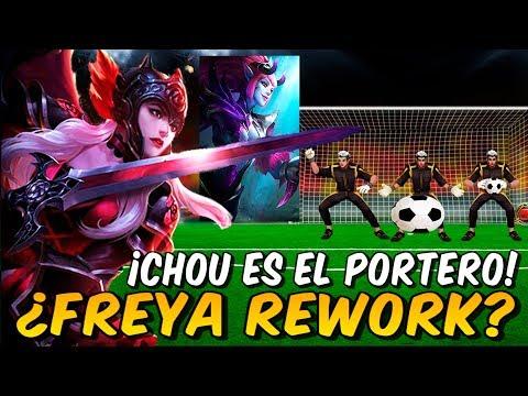 ¿Futuro REWORK de Freya o SKIN? + Nuevo Evento Kick Ball + Cambios en Selena! Noticias con Daken #2