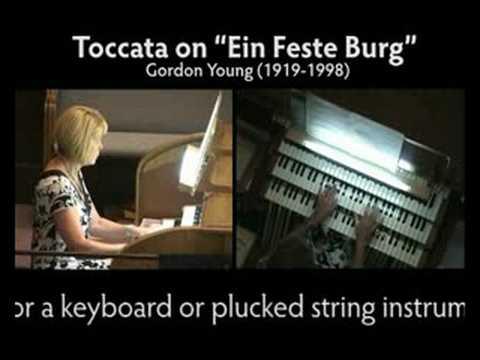 """Toccata on """"Ein Feste Berg"""""""