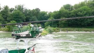 Donau Rollfähre Korneuburg - Klosterneuburg