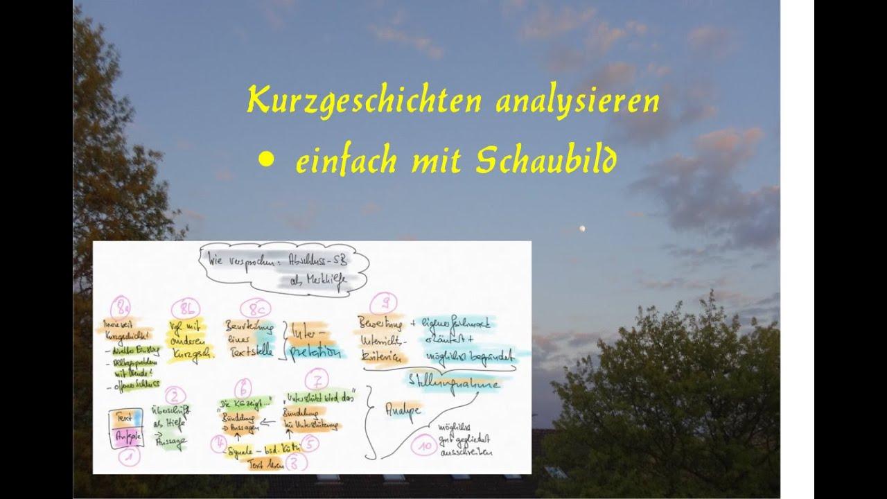 Interpretationsaufsatz Kurzgeschichte Landesbildungsserver 9