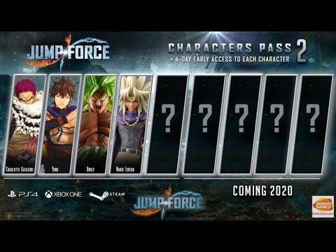 Jump Force Dlc Season 2 Prediction List Youtube
