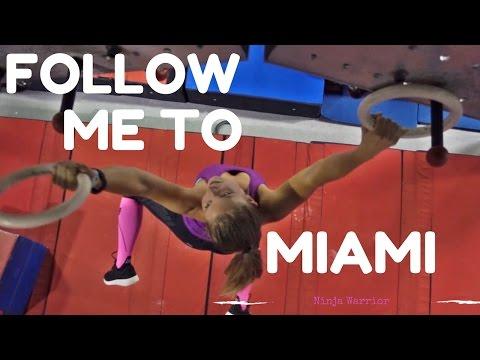 Erster Tag in Miami - Training im Ninja Warrior Gym