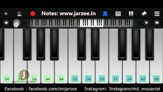 Chal Ghar Chalen (Arijit Singh) - Easy Mobile Perfect Piano Tutorial | Jarzee Entertainment
