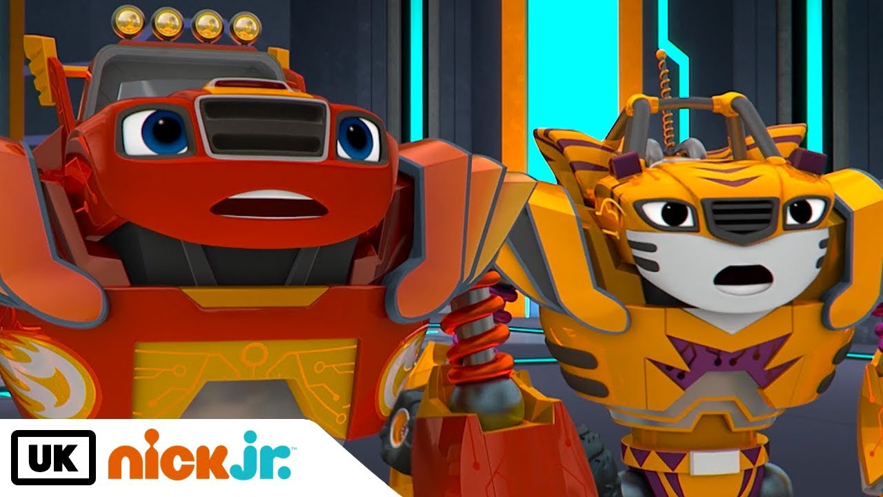 Blaze And The Monster Machines Robot Friends Nick Jr Uk Youtube