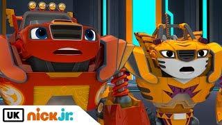 blaze and the monster machines robot friends nick jr uk
